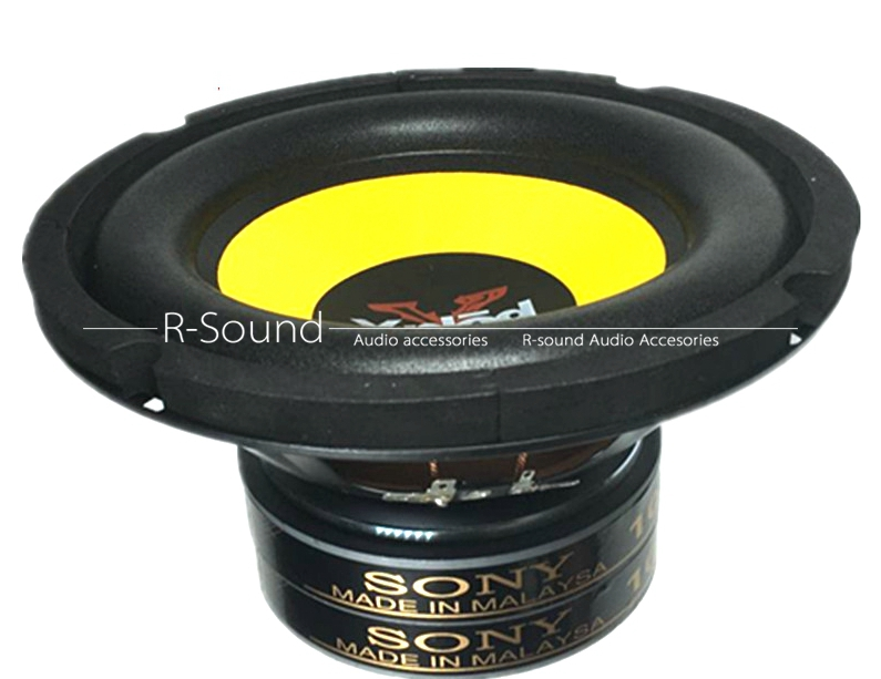 Details About 1pc Sony 6 5 Inch 120 Magnetic Double Magnet Subwoofer Speaker D 16 5cm H 11cm
