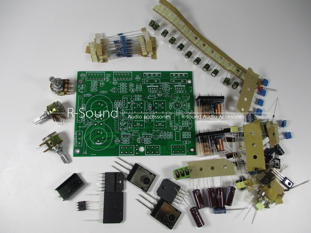 Lm3886 2sc5200 2sa1943 21 Channel Subwoofer Power Amplifier Board High Performance Audio 150wx1 68wx2