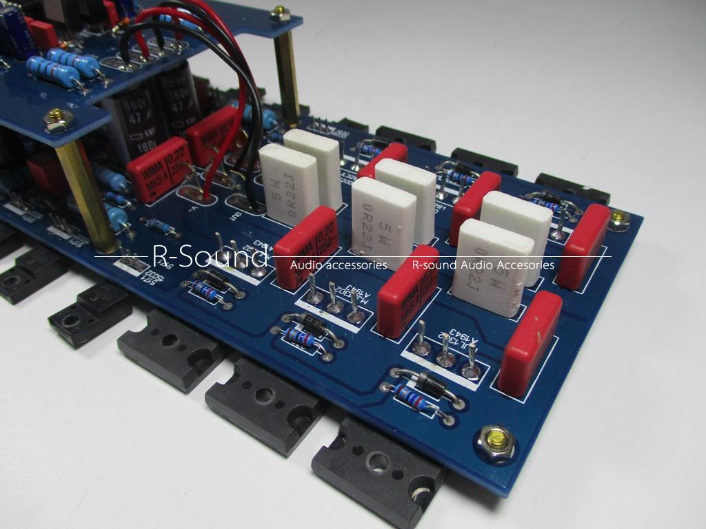Hb 108 Hifi Power Amplifier Board Base On Dartzeel Circuit Speakeraudio Output Indicator For