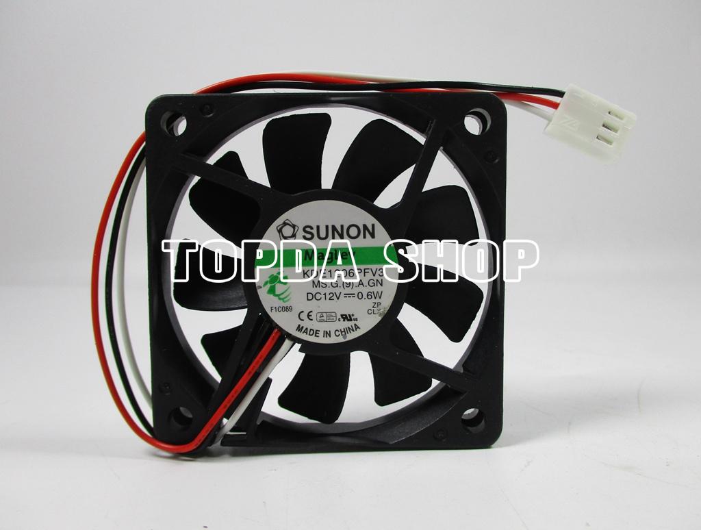 1pc SUNON DC Cooling Fan 40x40x10mm 4010 2pin//3pin 0.6W//0.8W//0.9W//0.96W//1.08W