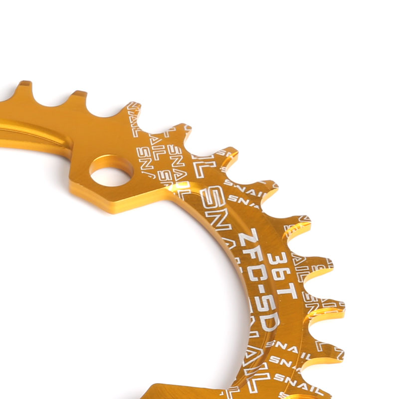 104BCD 32T//34T//36T Oval//Round Chainring Sprocket MTB Bicycle Narrow Chainwheel