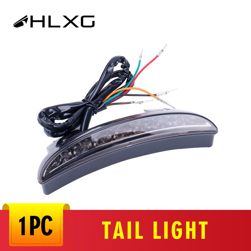 Fender Edge LED Tail Light Brake Turn Signals For Harley Iron 883 XL883N 09-2018