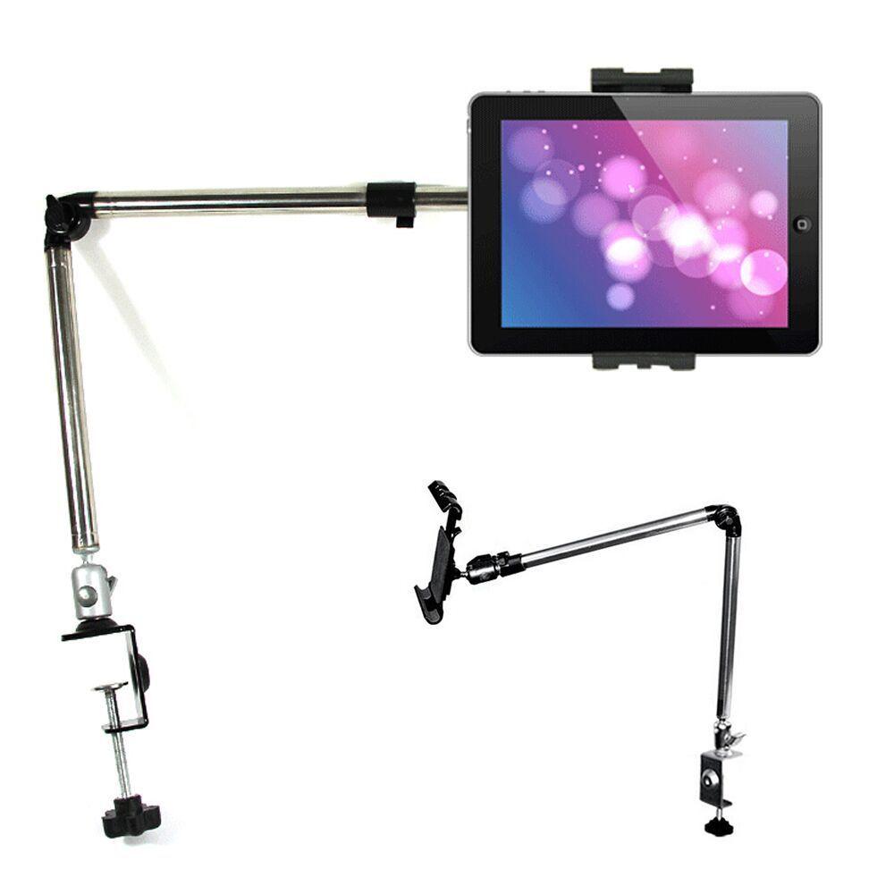 """41/"""" 360º Rotating Lazy Bed Tablet Mount Holder Desktop Stand 4-11/"""" Ipad Samsung"""