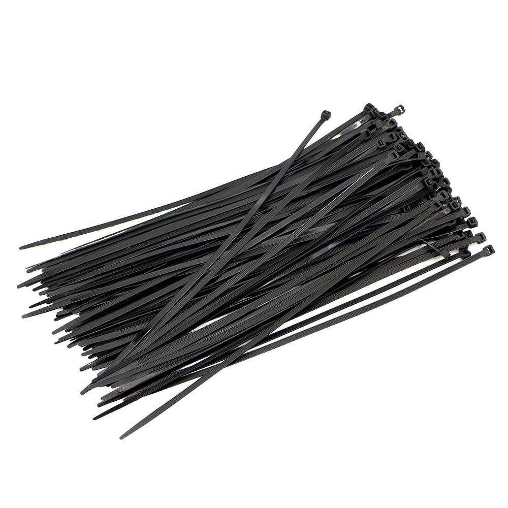 """200 Pcs Green 8/"""" Nylon Plastic Cable Wire Zip Tie Cord Strap Fasten Wrap 40 Lbs"""