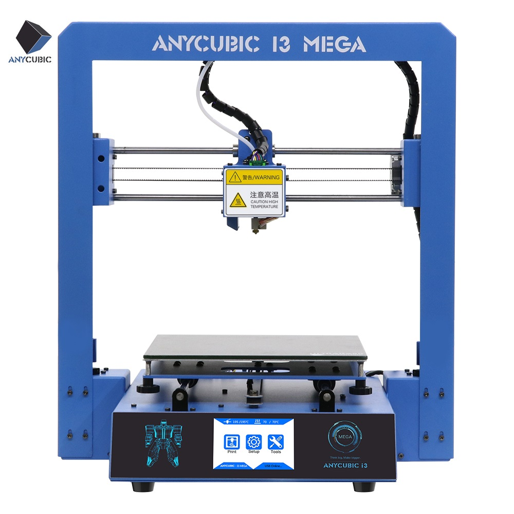 DE Stock ANYCUBIC 3D Drucker I3 Mega Voll Metallrahmen Große ...