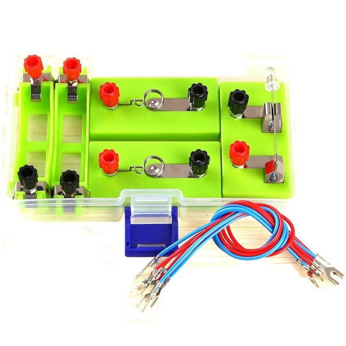 Electric Electricity Kit Kids Build Own Circuit Board Student School Components Best Toddler Toys Science Toy
