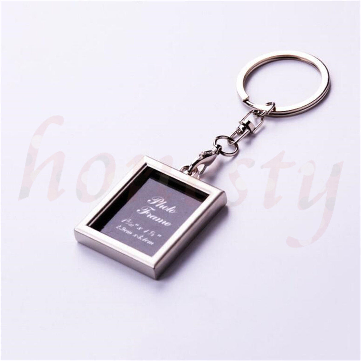 Diy insert photo picture frame custom keyring key ring keychain diy insert photo picture frame custom keyring key ring keychain gift 7 shapes jeuxipadfo Choice Image