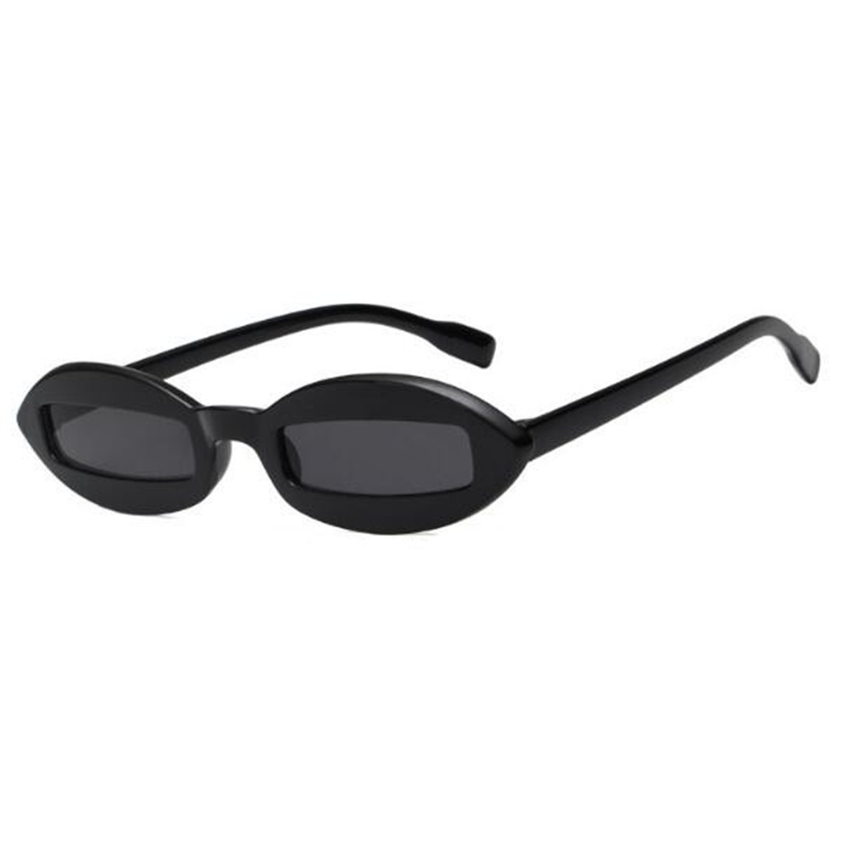 Mens Women Fashion Oval Sunglasses Cool Small Frame Eyewear Glasses ...