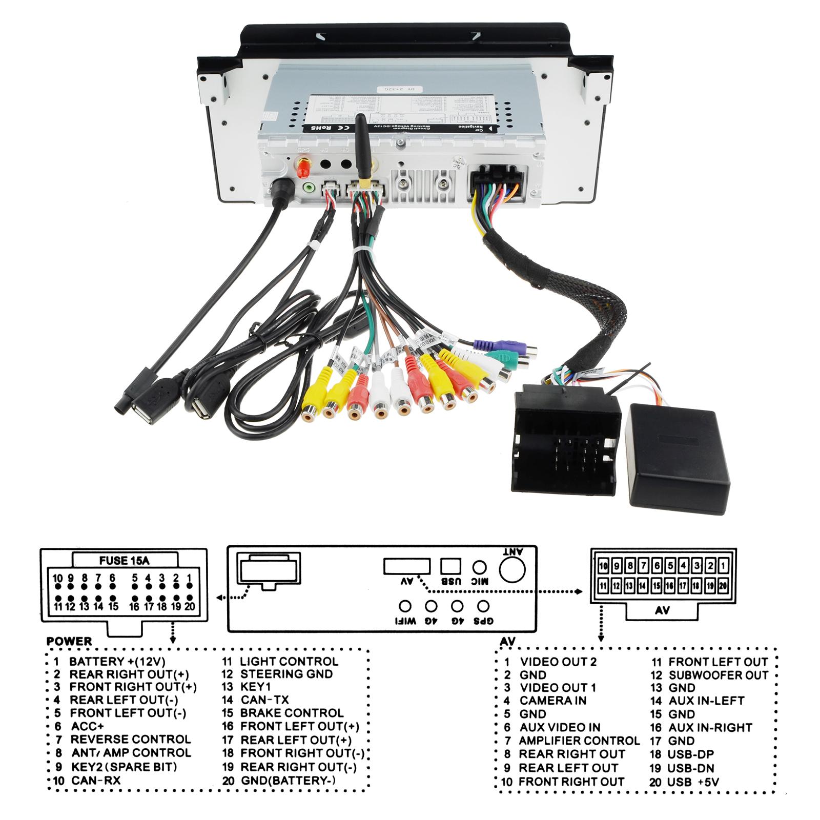 9android 81 Hd Car Radio Sat Nav Gps Dab Wifi Canbus Bluetooth E39 Factory Amp Wiring Bmw X5 E53