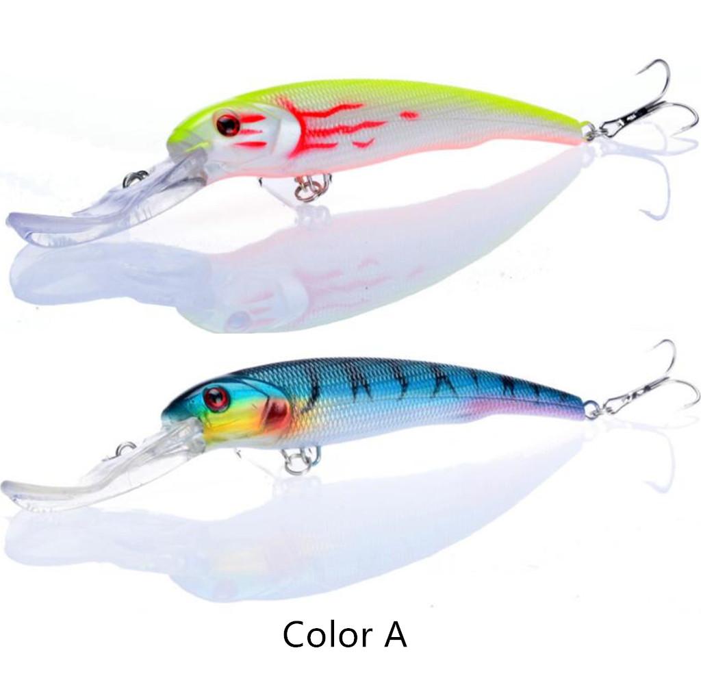 1PCS Big Minnow Fishing Lures Deep Swim Saltwater Hard Bait Wobbler Fishing