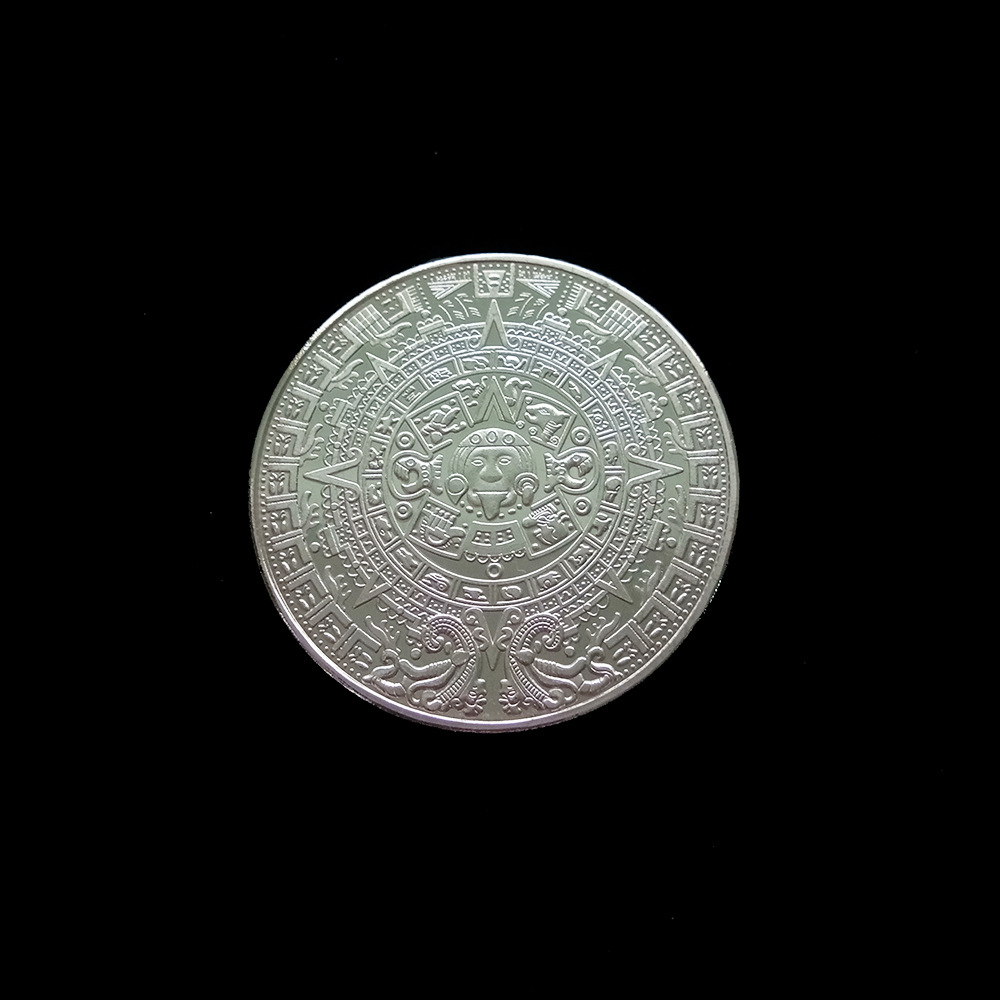 2 x TRX Coin TRONIX Collectible Coins Commemorative Virtual Coin Art Collection