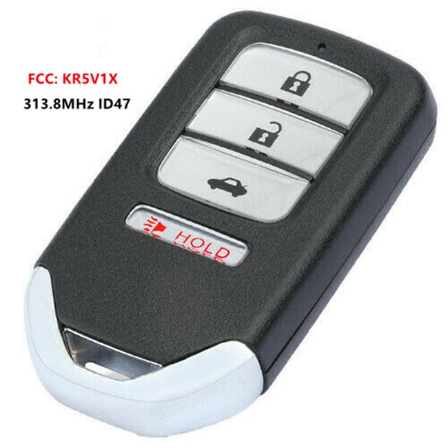 For Honda HR-V Fit 2015 2016 2017 2018 19 Remote Car Key