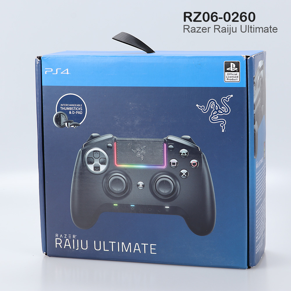 Razer Raiju Ultimate Rz06 0260 Gaming Controller For Ps4 Bluetooth Wired Ebay The razer raiju ultimate is the wireless ps4 controller that allows advanced customization via our own mobile app. ebay
