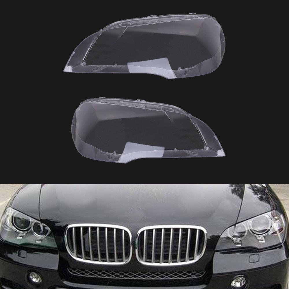 For 2007-2012 BMW X5 E70 Left & Right Headlight Headlamp