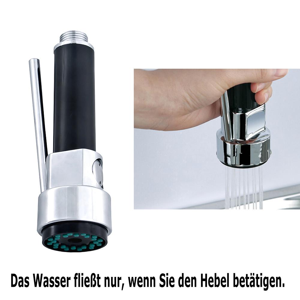 Kupfer Küchenarmatur Trigger-Schalter Küchenbrause Brausekopf Gastro ...