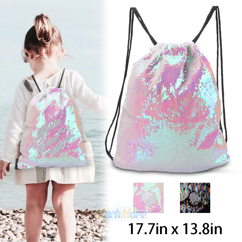 Winter Pattern with Branches Shoulder Bags Drawstring Backpack,Sackpack String Bag Cinch Water Resistant Nylon Beach Bag for Gym Shopping Sport Yoga