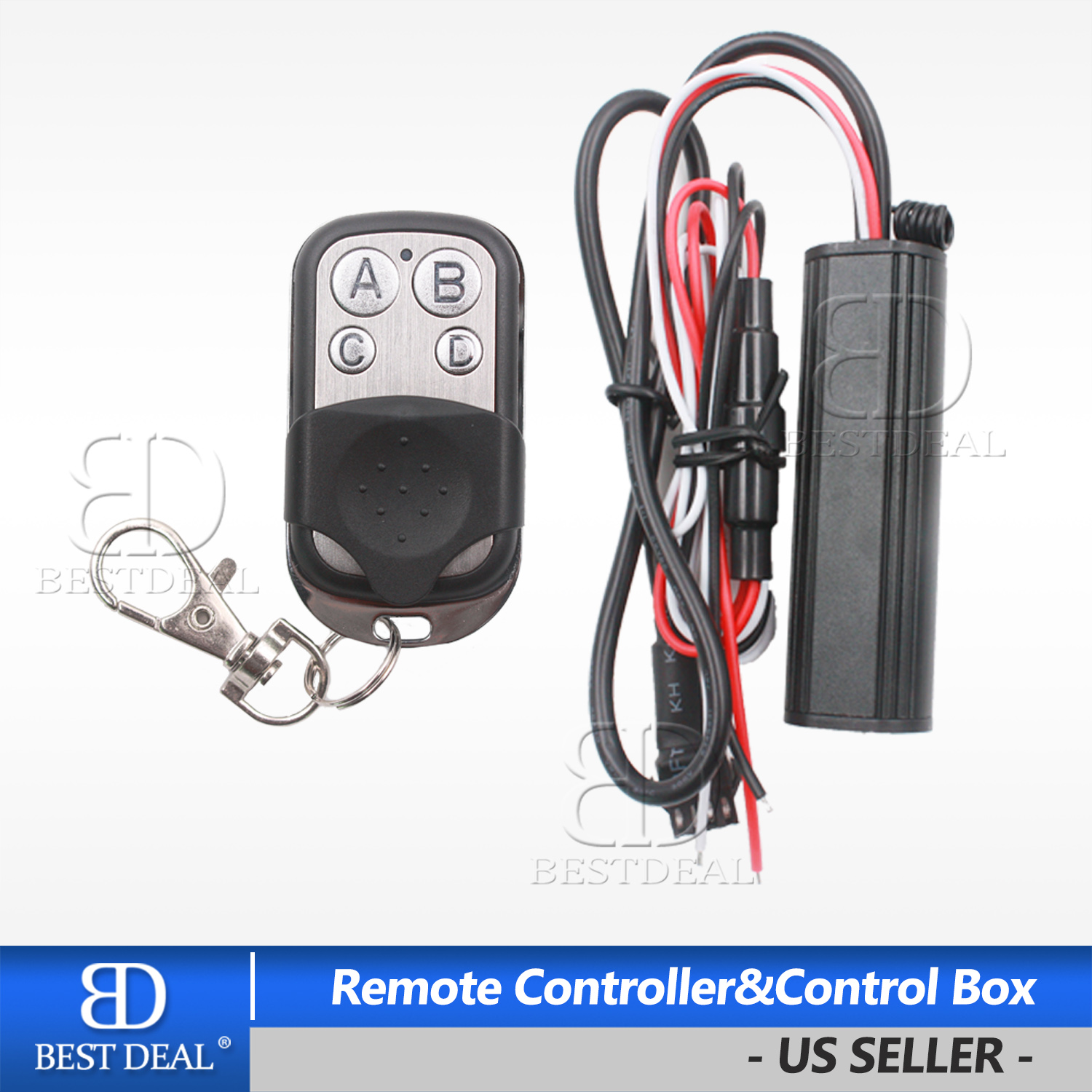Controller Box Remote Control KIT For Motorcycle RGB Pods//LED Neon Strip Lights
