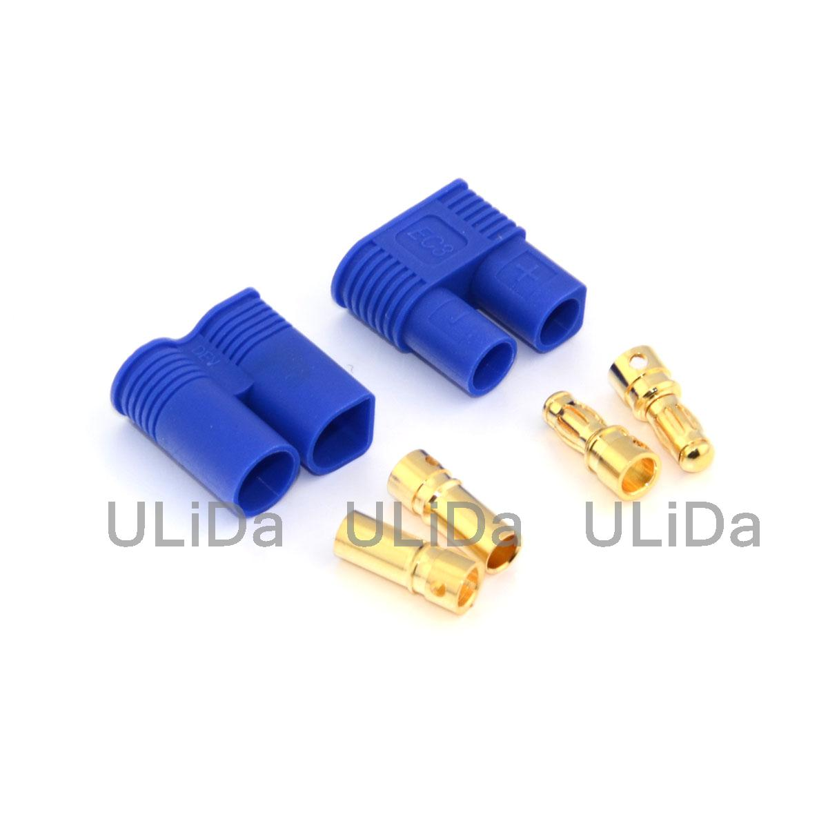 4MM Female Bullet to 6.5MM Male Bullet ESC Extension Leads 10AWG 200C SILICONE