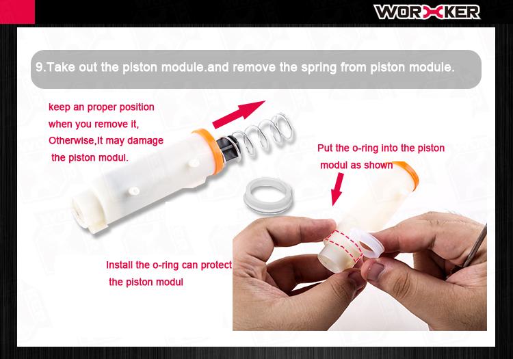 Worker Mod Short Darts Breech Magazine Modification Kit Como For