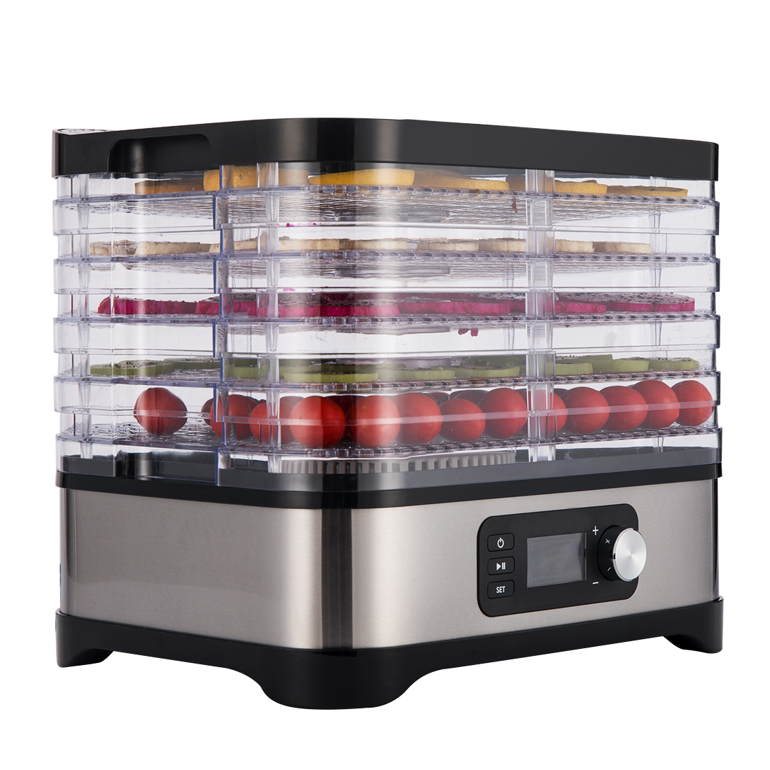 Vivohome 400w 5 Tray Food Dehydrator Preserver Fruit Vegetable Dryer Jerky Maker Ebay
