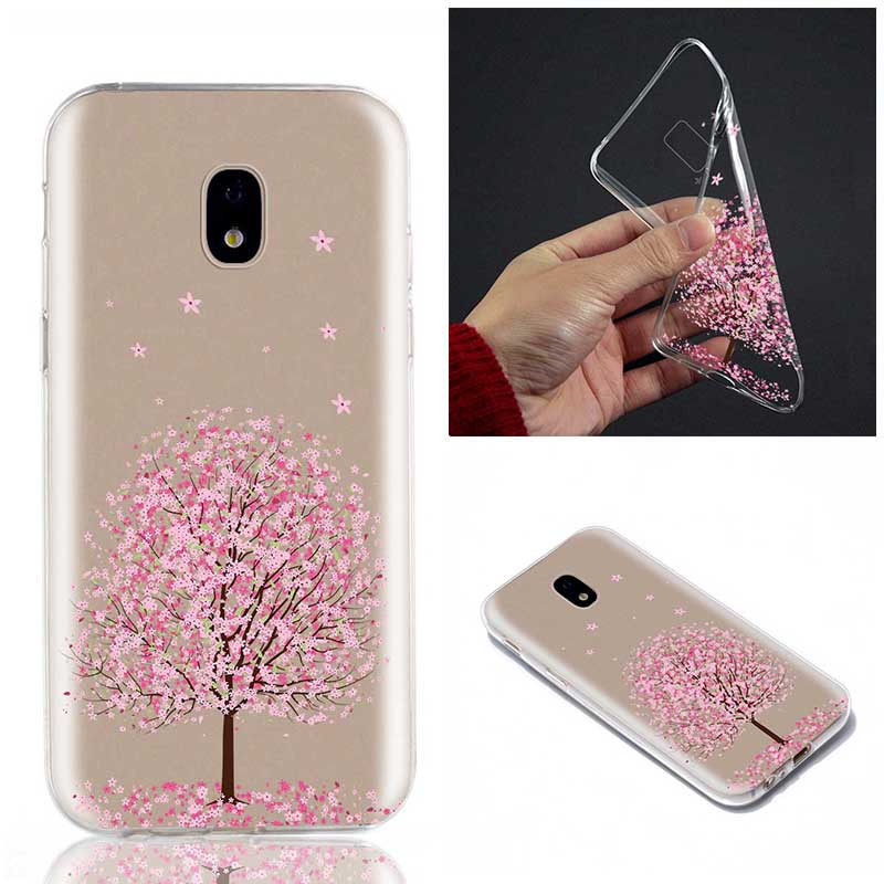 Painted Soft TPU Case Clear Phone Cover For Samsung Galaxy J3 J5 2017 A3 A5 2016