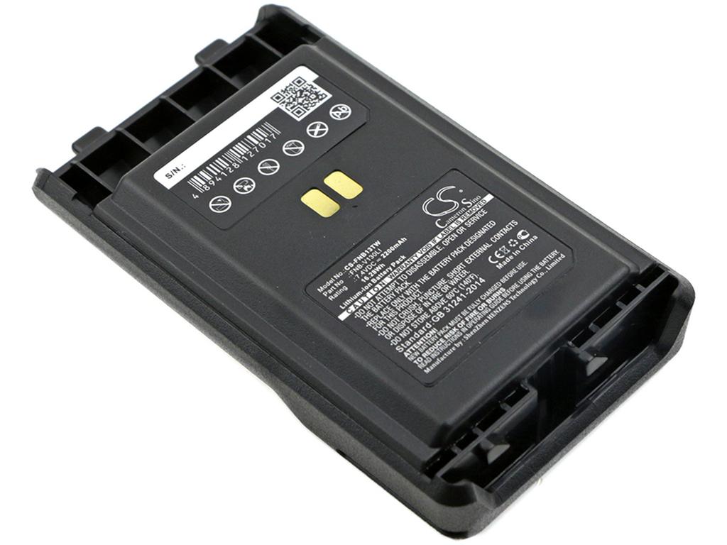 Replacement Battery for Vertex FNB-V130LI FNB-V130LI-UNI Vertex VX-351 VX-354 VX-359 2200mAh,7.40V, Li-ion