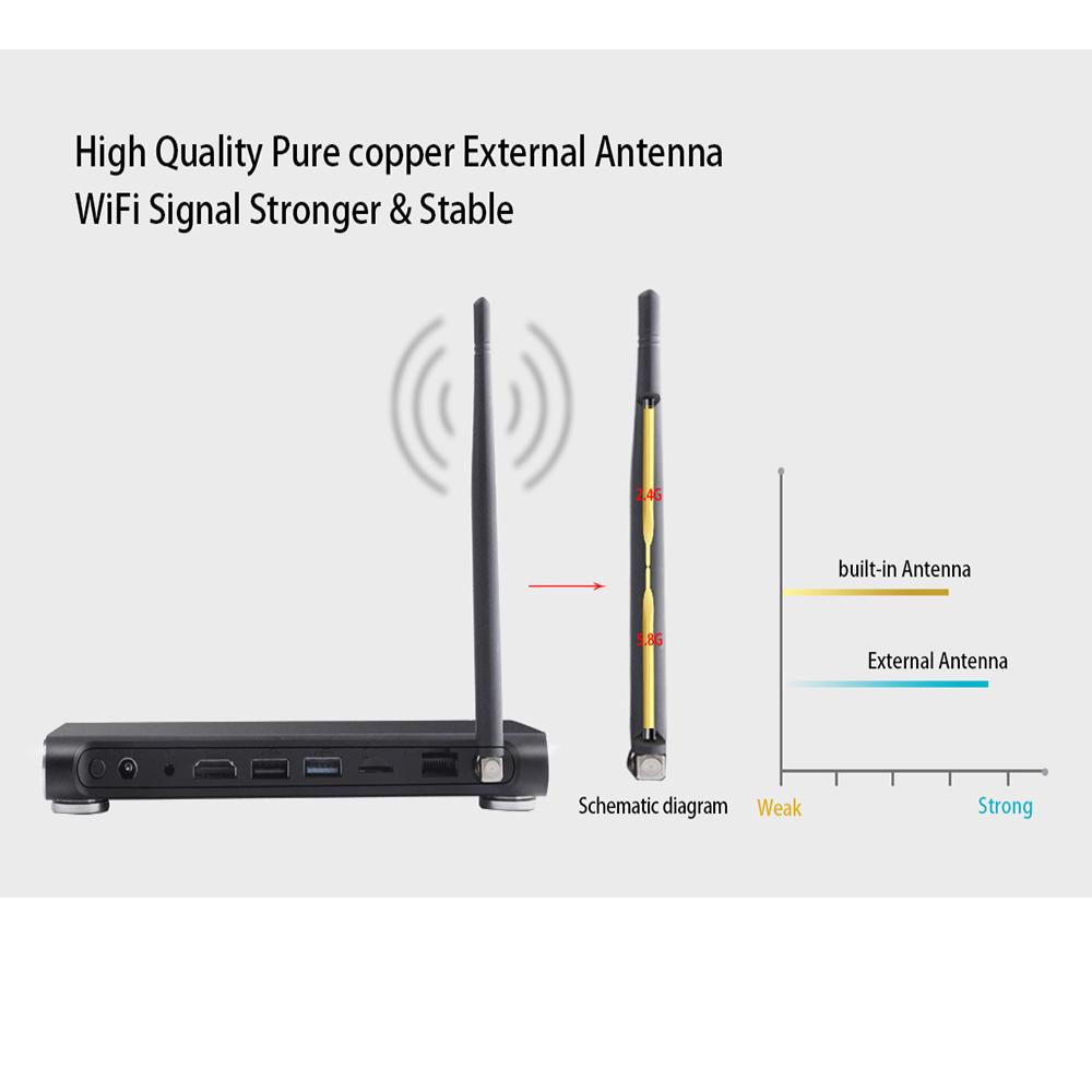 K10 Plus 4gb 32gb Quad Core Android 71 Tv Box 17 Dual Wifi 4k E Cigarette Circuit Diagram Smart Usb Strong Antenna