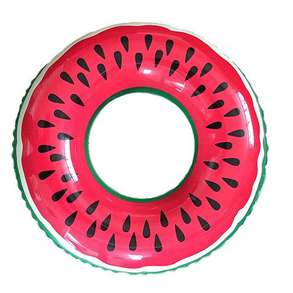 Inflatable-Watermelon-Swim-Ring-Summer-Swimming-Pool-Toy-Kids-Adults-Float