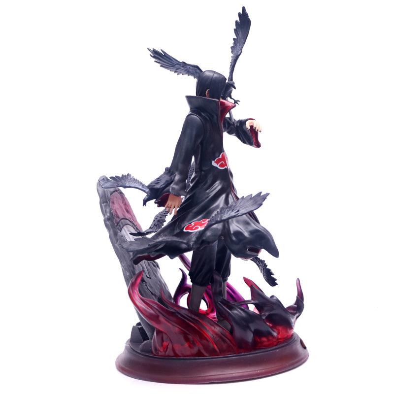 Anime Naruto Shippuden Uchiha Itachi PVC Action Figure Figurine Toy Gift 26CM