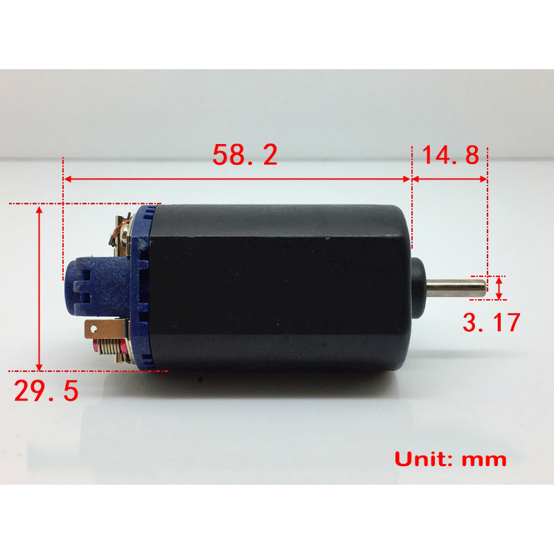 Standard RS370-4045 Motor DC 6V-12V 33600RPM High Speed Strong Magnetic Powerful