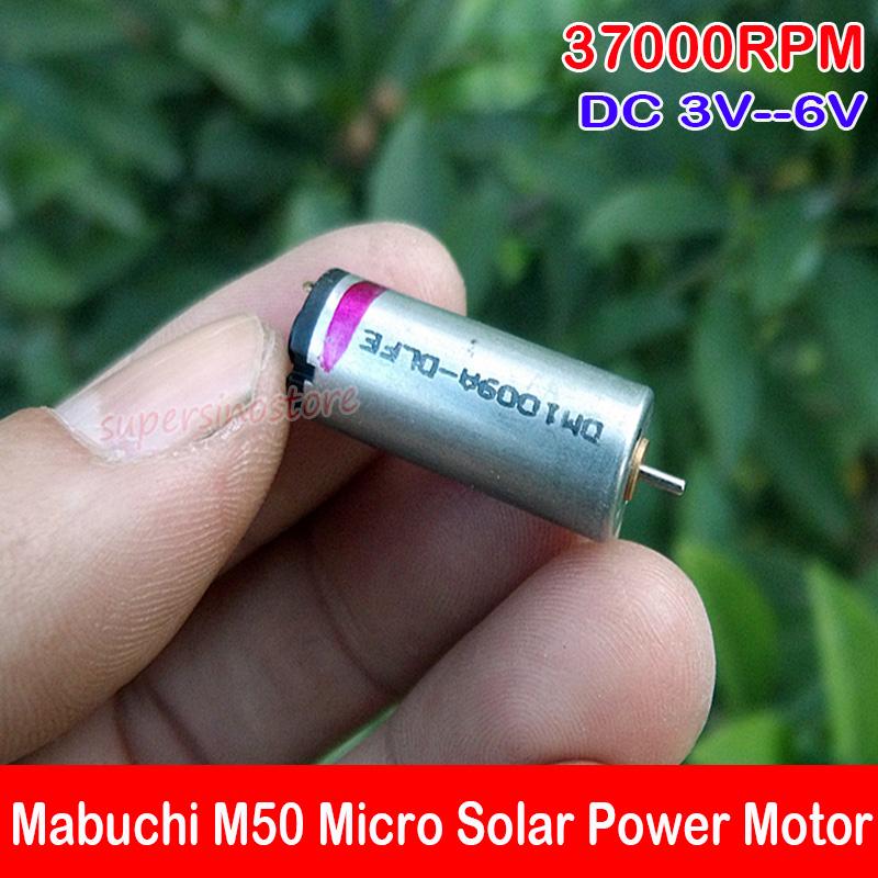 6mm*12mm DC 3V 37000RPM High Speed Round Micro Mini Thin Coreless Motor DIY Toy