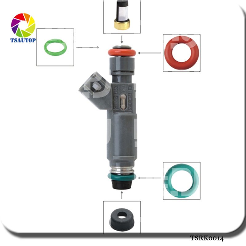 Filter Nozzle Repair Kits Auto Part Fuel Injector Service Universal 500sets//box
