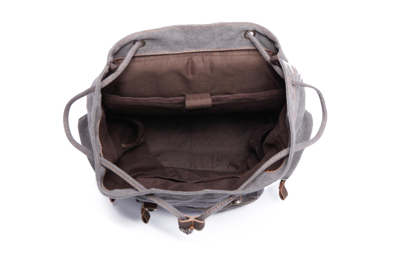 KAUKKO Canvas Travel Bag Laptop Backpack Computer Notebook School Bag  GREY(2PC) 15b692fb95eae