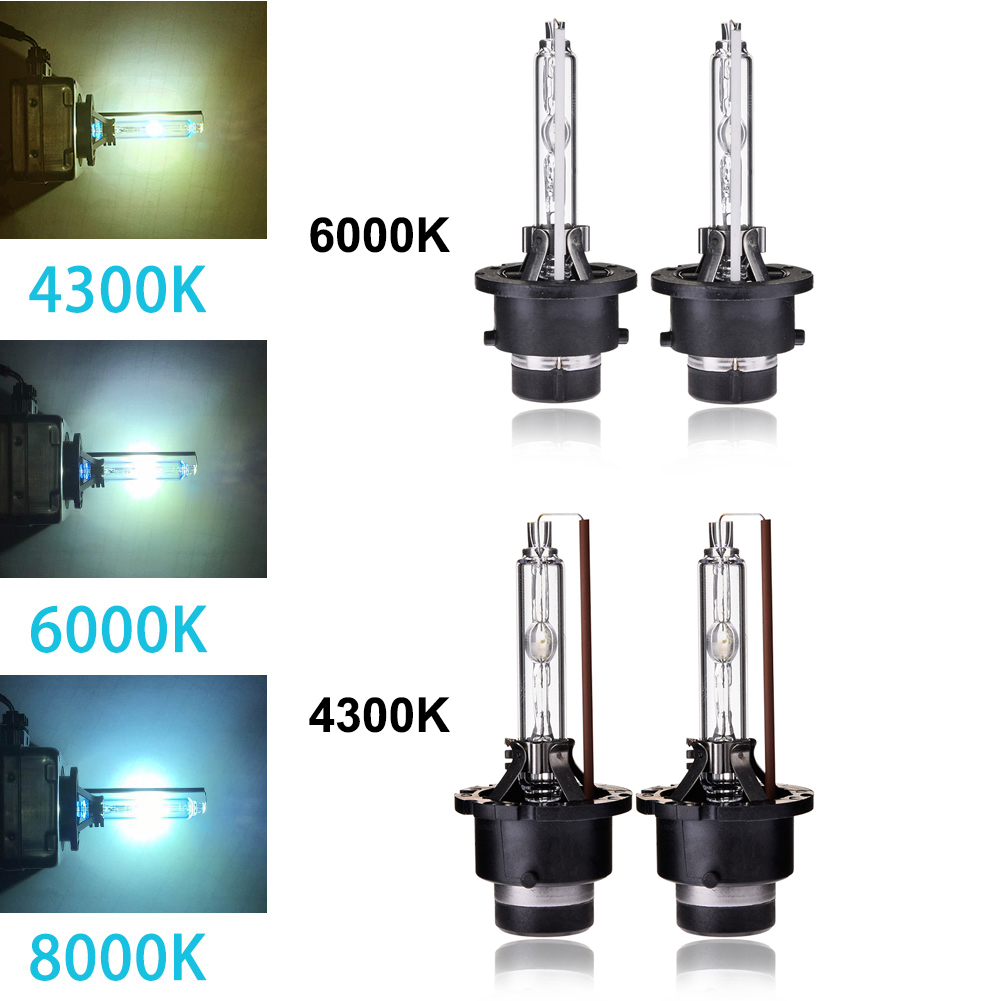 Hid Light Bulbs >> Details About 1pair D2c D2s D2r Hid Headlight Xenon Lamp Light Bulbs Replacement 6000k 4300k