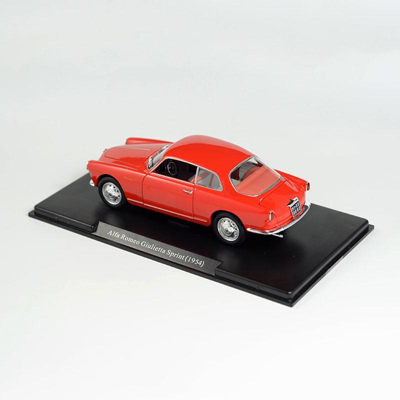 Alfa Romeo Giulietta Sprint Car Model Alloy Diecast Toy - Alfa romeo scale models