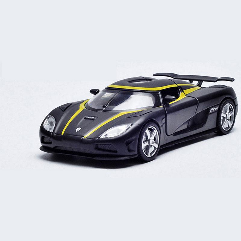 Koenigsegg Agera R Maßstab 1:32 Die Cast Modellauto Auto Spielzeug Pull Back