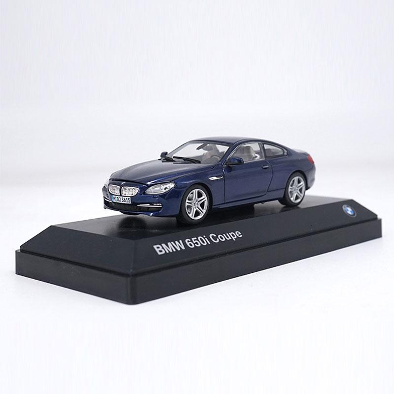 1:43 BMW 650i Coupe Metallic Modellauto Auto Spielzeug Geschenk Sammlung