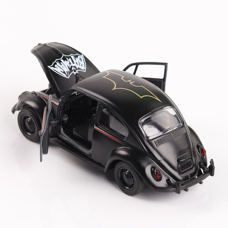 1 32 batman pattern vw beetle die cast modellauto auto. Black Bedroom Furniture Sets. Home Design Ideas
