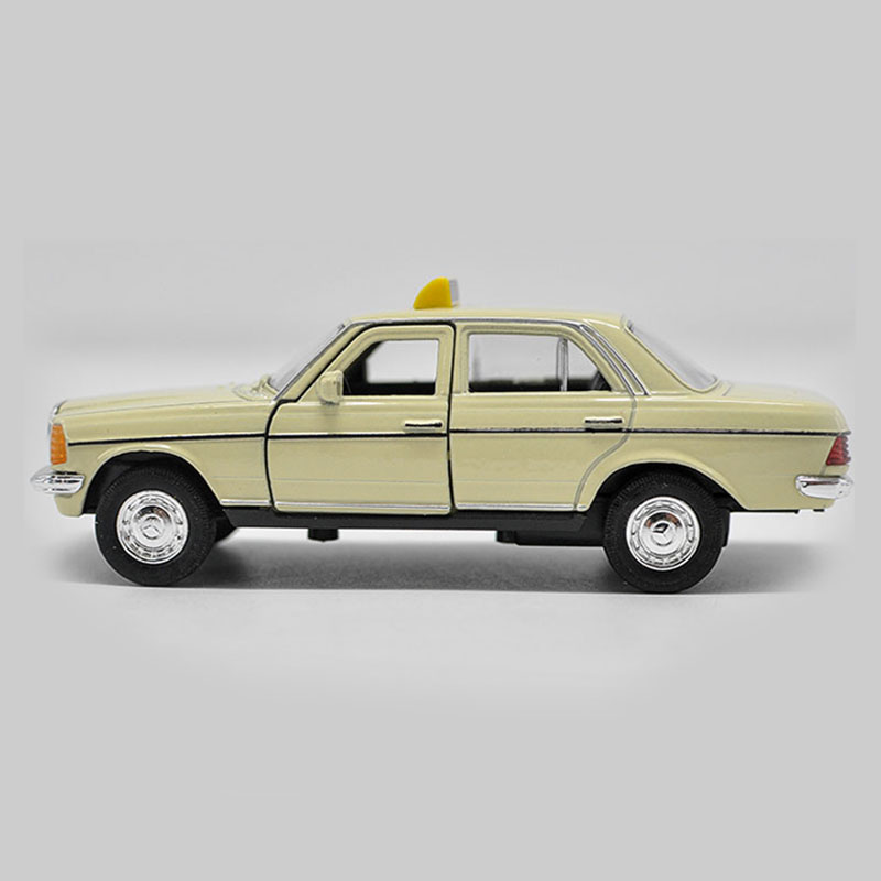 mercedes benz w123 taxi metall die cast modellauto auto. Black Bedroom Furniture Sets. Home Design Ideas