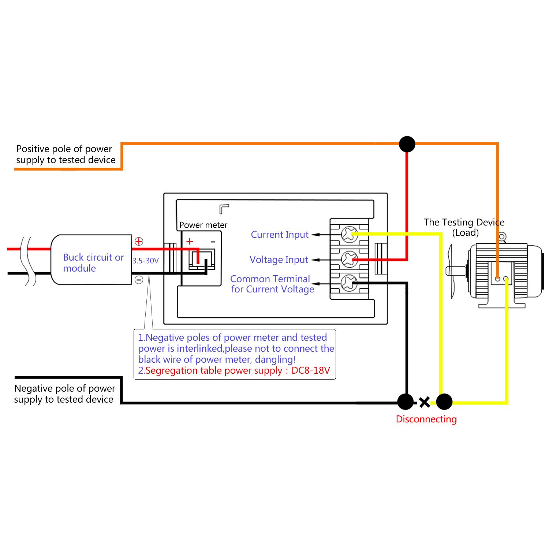 Business Industrial Test Equipment Multimeters Digital Voltmeter Ammeter Dc 0 0 300v 20a Led Dual Display Voltage Current Meter Studio In Fine Fr