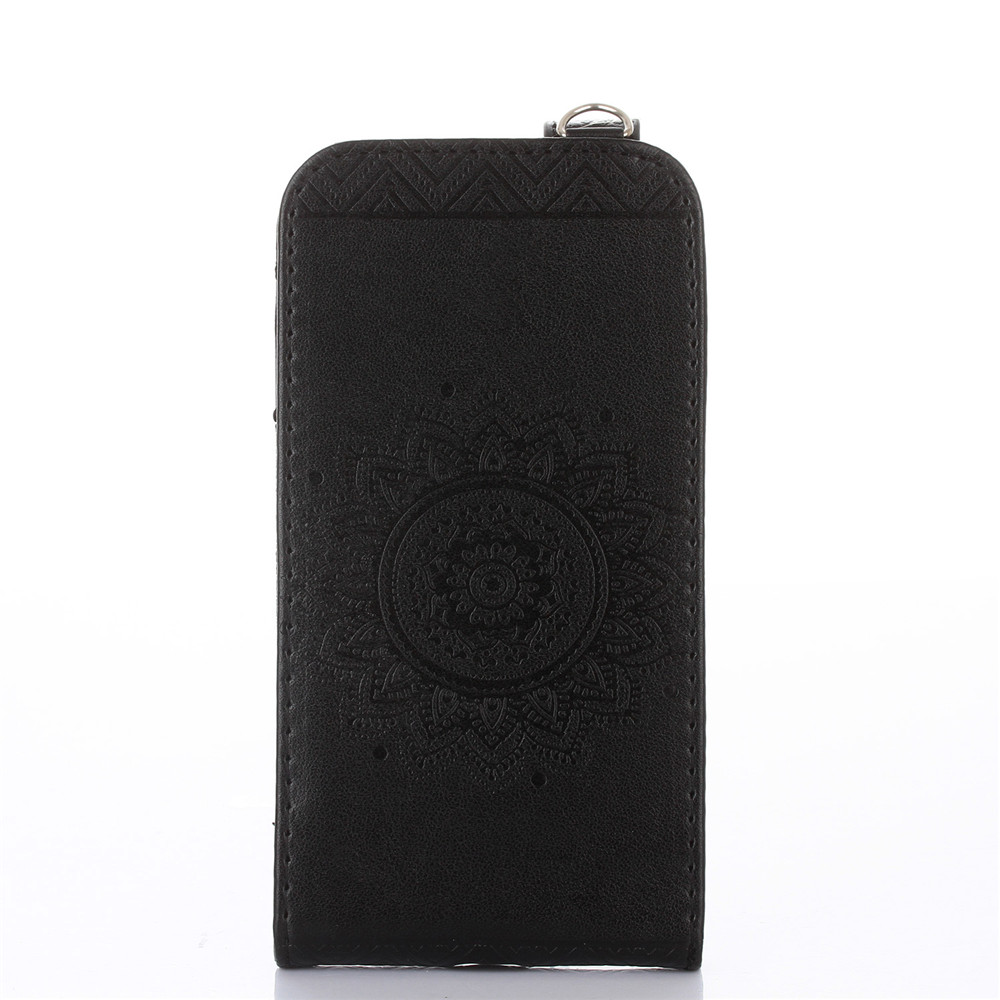 Magnetic Vertical Flip PU Leather Stand Wallet Case Cover ...