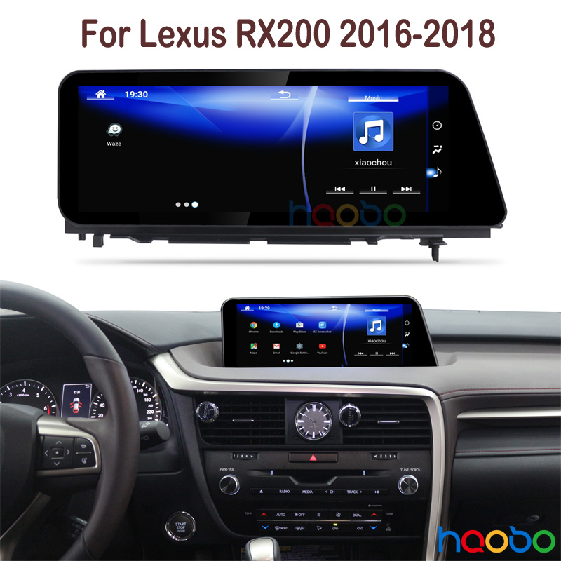 Android 7 1 Car GPS Radio stereo player navigation for Lexus RX 200