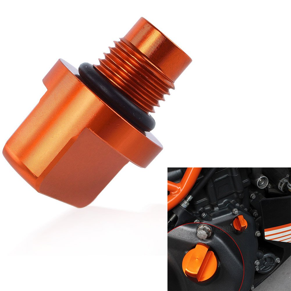 Motorcycle CNC Engine Oil Drain Plug Bolts Screw For KTM DUKE 125 200 390 13-17