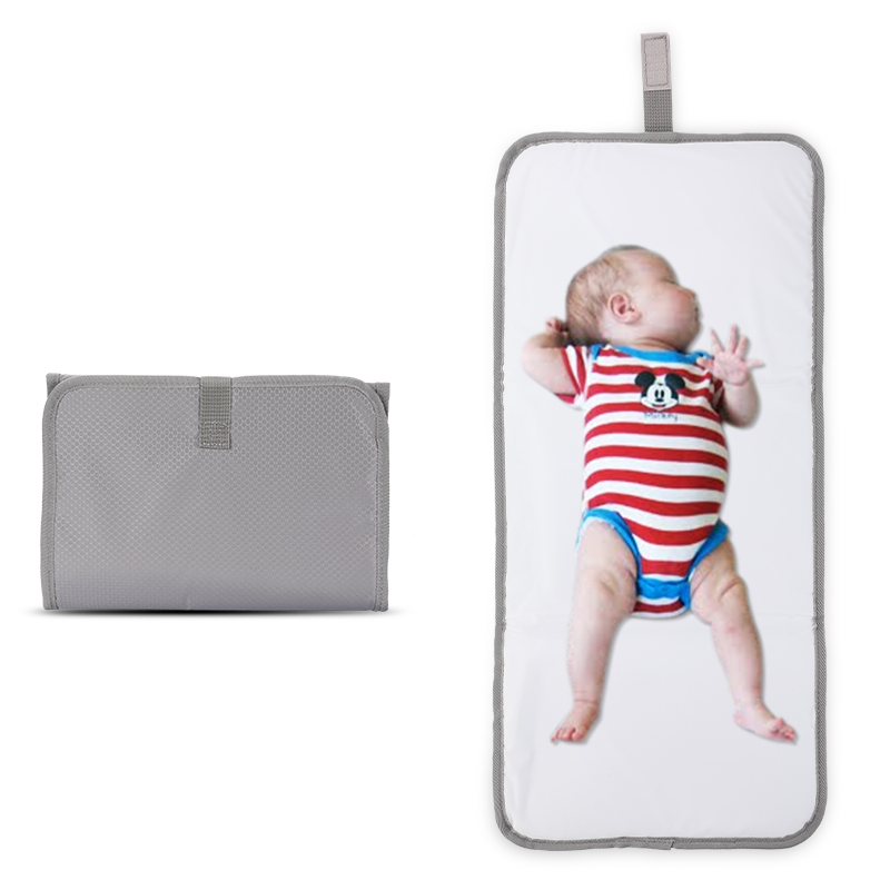 Waterproof Wallet Travel Baby Nappy Bag Foldable Clutch Mat Diaper Changing Pad