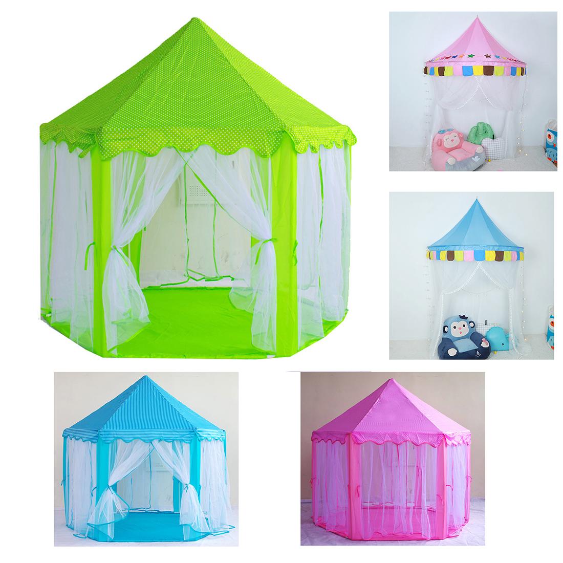 Details about Kids Baby Developmental Play Tent Children Girl Princess Indoor Castle Playhouse  sc 1 st  eBay & Kids Baby Developmental Play Tent Children Girl Princess Indoor ...