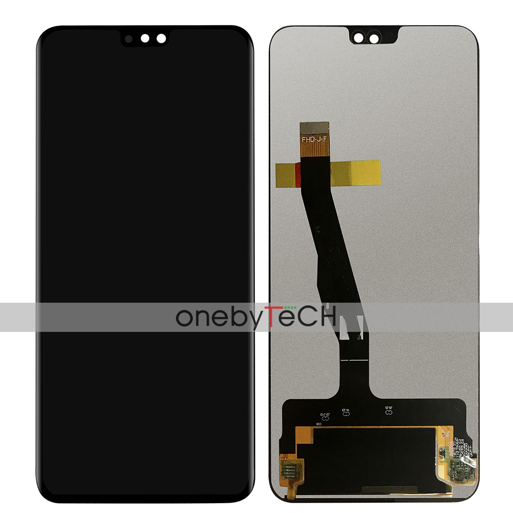Black Replacement Part SHIFENX LCD Screen and Digitizer Full Assembly with Frame for Huawei Honor 8X Color : Black