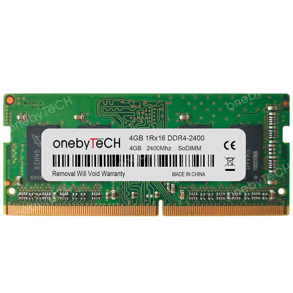 Samsung 8GB kit 2x4GB 1RX16 PC4-19200S DDR4-2400T 2400 MHz 260pin SoDimm Memory