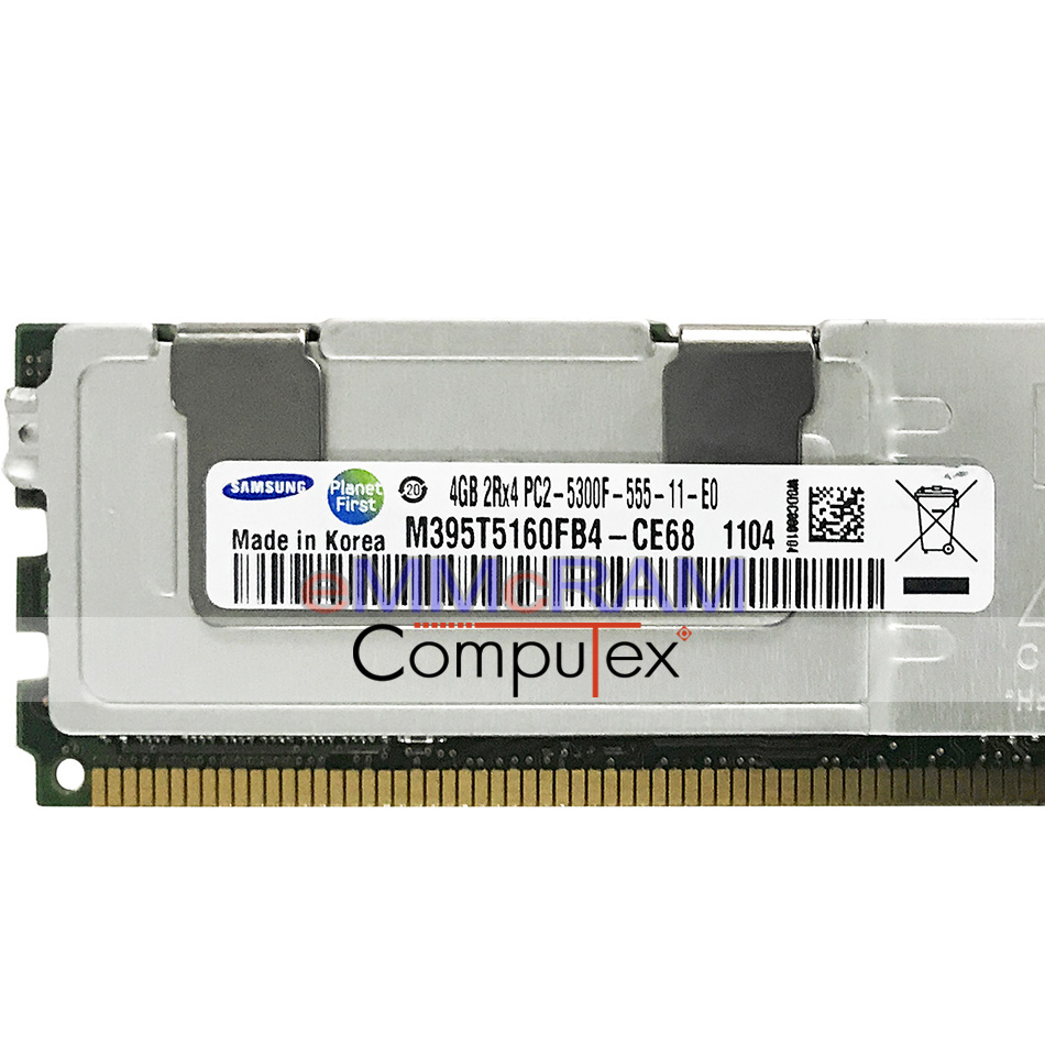 16GB RAM Memory Compatible with Dell PowerEdge 1950 DDR2 Fully Buff 4x4GB