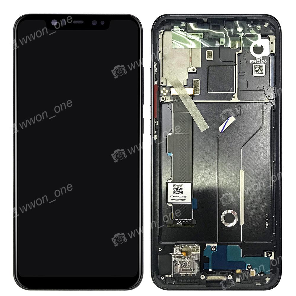 Details about 6 2''Xiaomi Mi 8 MI8 Mi8 AMOLED LCD Display Touch Digitizer  Assembly+Frame Bezel