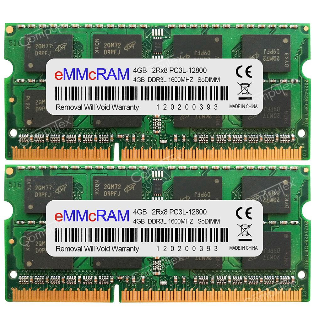 "8GB 2x4gb Memory RAM 4 Apple MacBook Pro Core MD101LL//A i5 2.5 13/"" Mid-2012 A24"